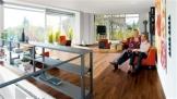 HARO Parkett 4000 Amerikanischer Nussbaum Exquisit-Trend Schiffsboden 3-Stab versiegelt