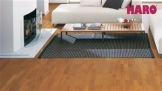 HARO Parkett 4000 Bernsteineiche Exquisit/Trend Schiffsboden 3-Stab versiegelt