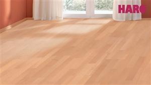 haro parkett 4000 buche ged mpft exquisit schiffsboden 3 stab versiegelt parkett shop. Black Bedroom Furniture Sets. Home Design Ideas