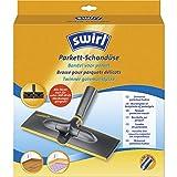 Swirl Parkett-Schondüse (Ultraflache Staubsaugerdüse mit Filzgleitern, 32mm-35mm, Passend z.B. für Miele, Siemens, Bosch, Philips, Kärcher, AEG, Samsung, Rowenta)