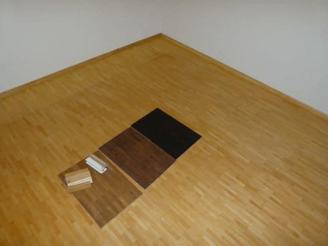 Holzfußboden Lackieren Oder Wachsen ~ Parkett färben dielen einfärben nach dem abschleifen