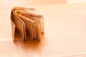 Parkettleger Anzahlung/Vorauszahlung
