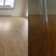 Eiche-Stabparkett: renoviert und frisch versiegelt